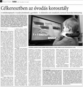 tv media hatasa gyerekekre Nuridsany gyermekpszichologus