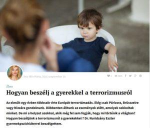 gyerekpszichologus trauma feldolgozas terapia